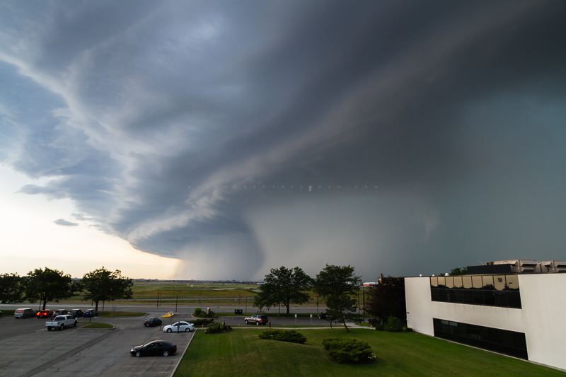 Storm Shelf Over Pearson